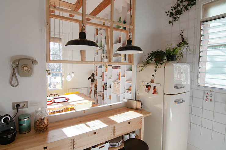 projecte virreina degoma Moderne Esszimmer