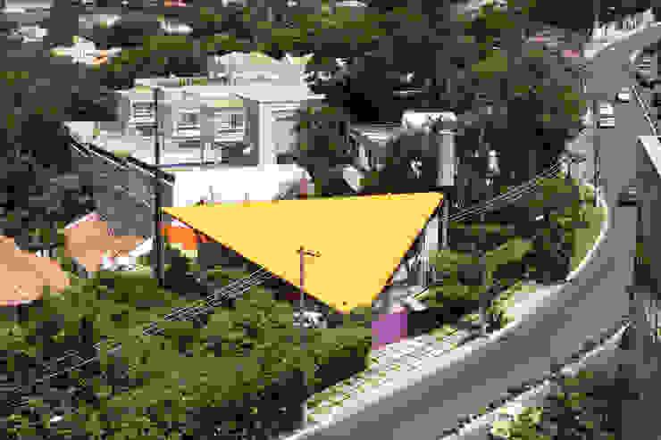 Vista aérea Casas modernas por Carlos Bratke Arquiteto Moderno