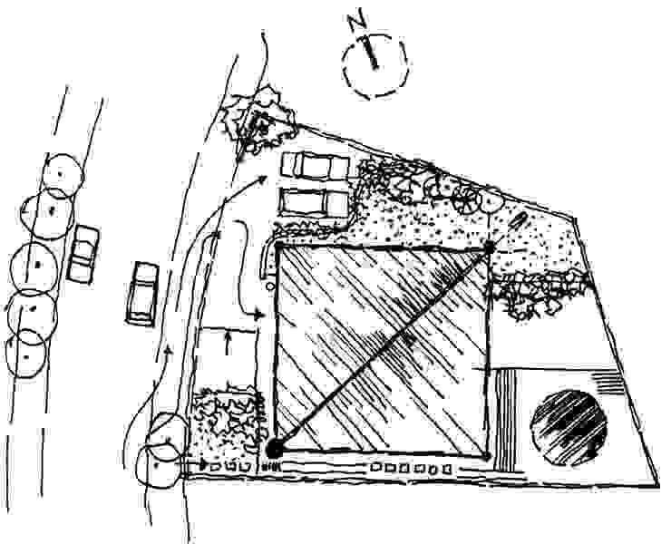 Implantação por Carlos Bratke Arquiteto Moderno