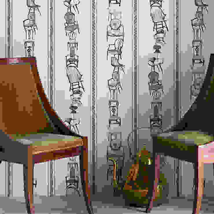 Barneby Gates wallpaper - Chairs Dust Paredes y suelosPapeles pintados