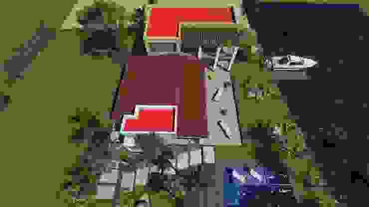 residencia en nvo. Vallarta Nayarit Casas modernas de unounoarquitectos Moderno