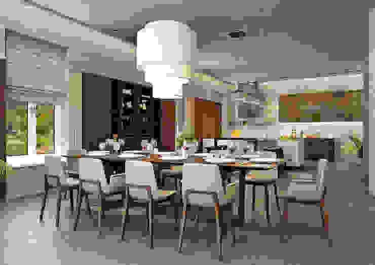 Кухня-студия Кухня в стиле модерн от Rash_studio Модерн