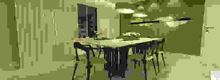 O living da Atriz Salas de jantar modernas por Rangel & Bonicelli Design de Interiores Bioenergético Moderno