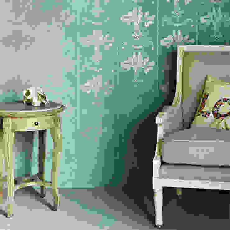 Barneby Gates wallpaper - Lucky Charms Dust Paredes y suelosPapeles pintados Verde