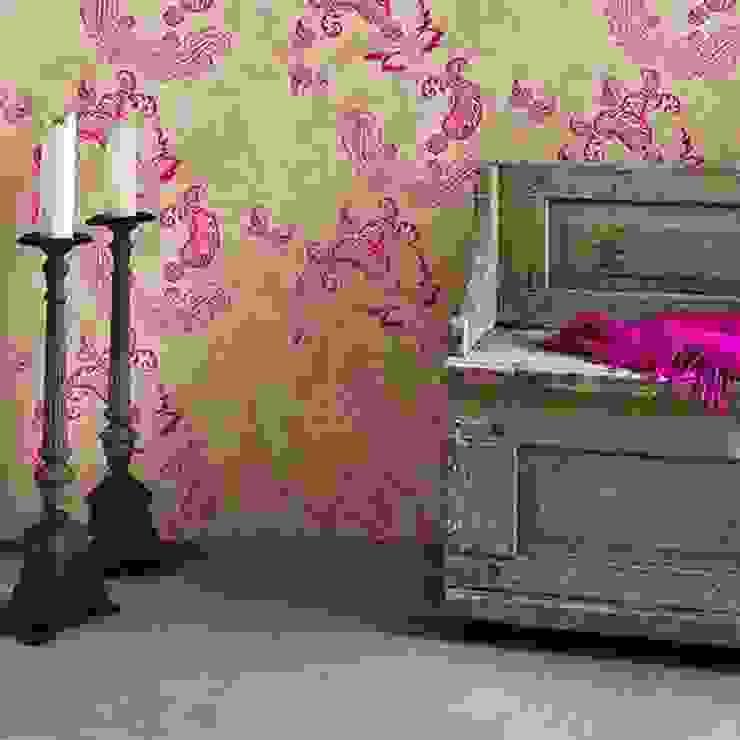 Barneby Gates wallpaper - Paisley Dust Paredes y suelosPapeles pintados Rosa