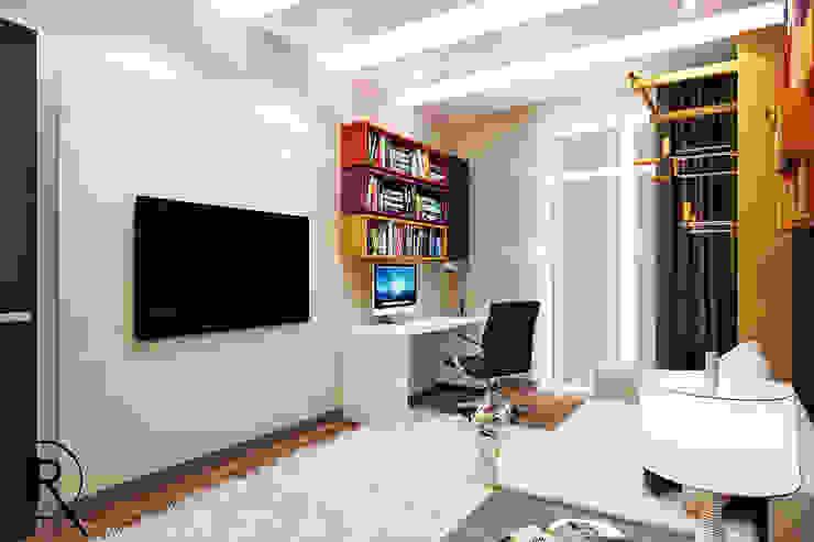 Комната подростка Детская комната в стиле модерн от Rash_studio Модерн