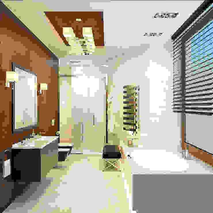 Санузел Rash_studio Ванная комната в эклектичном стиле
