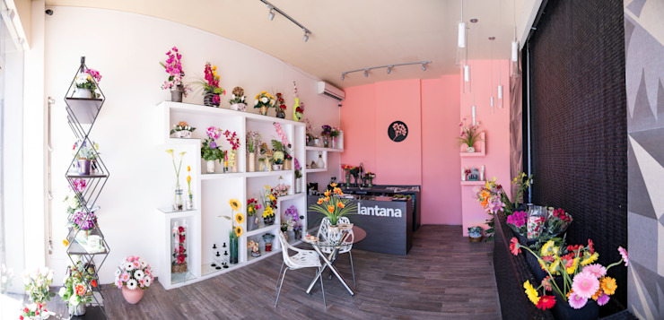 Florería Lantana de Taller La Semilla Minimalista