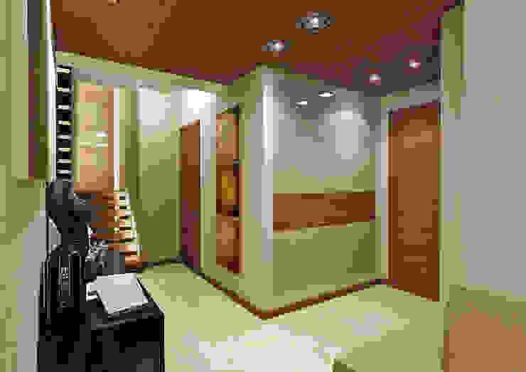 Прихожая Коридор, прихожая и лестница в модерн стиле от Rash_studio Модерн