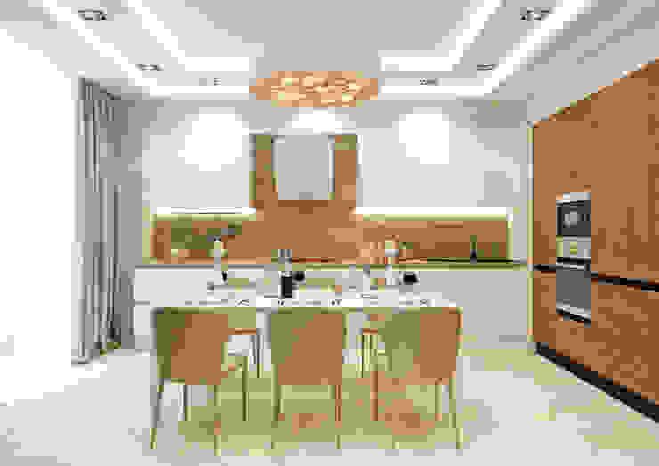 Кухня Кухня в стиле модерн от Rash_studio Модерн