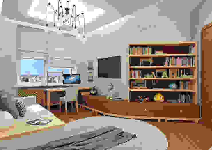 Детская №1 Детская комната в стиле модерн от Rash_studio Модерн