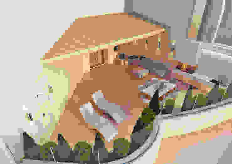 Терраса Балкон и терраса в стиле модерн от Rash_studio Модерн