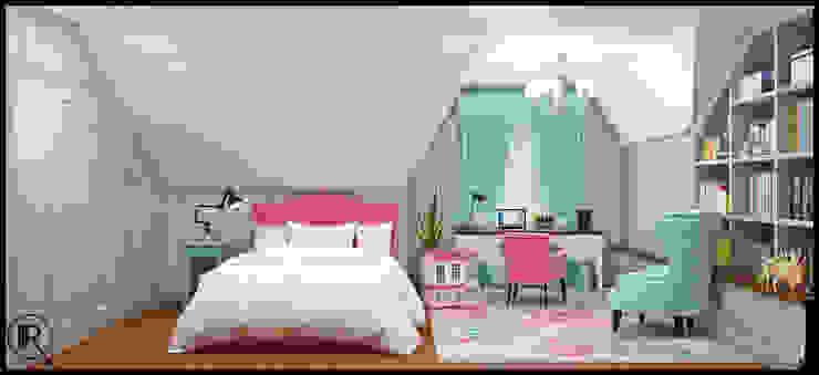 Интерьер дома для молодой семьи Детская комнатa в классическом стиле от Rash_studio Классический