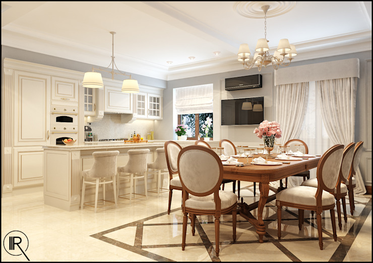 Кухня Кухня в классическом стиле от Rash_studio Классический
