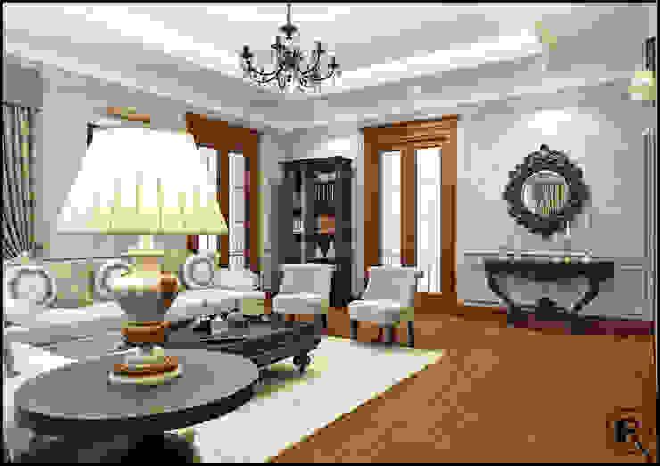 Гостиная Гостиная в классическом стиле от Rash_studio Классический