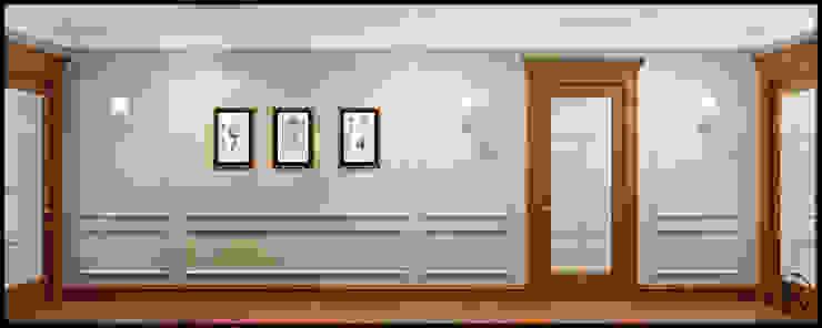 Коридор Коридор, прихожая и лестница в классическом стиле от Rash_studio Классический