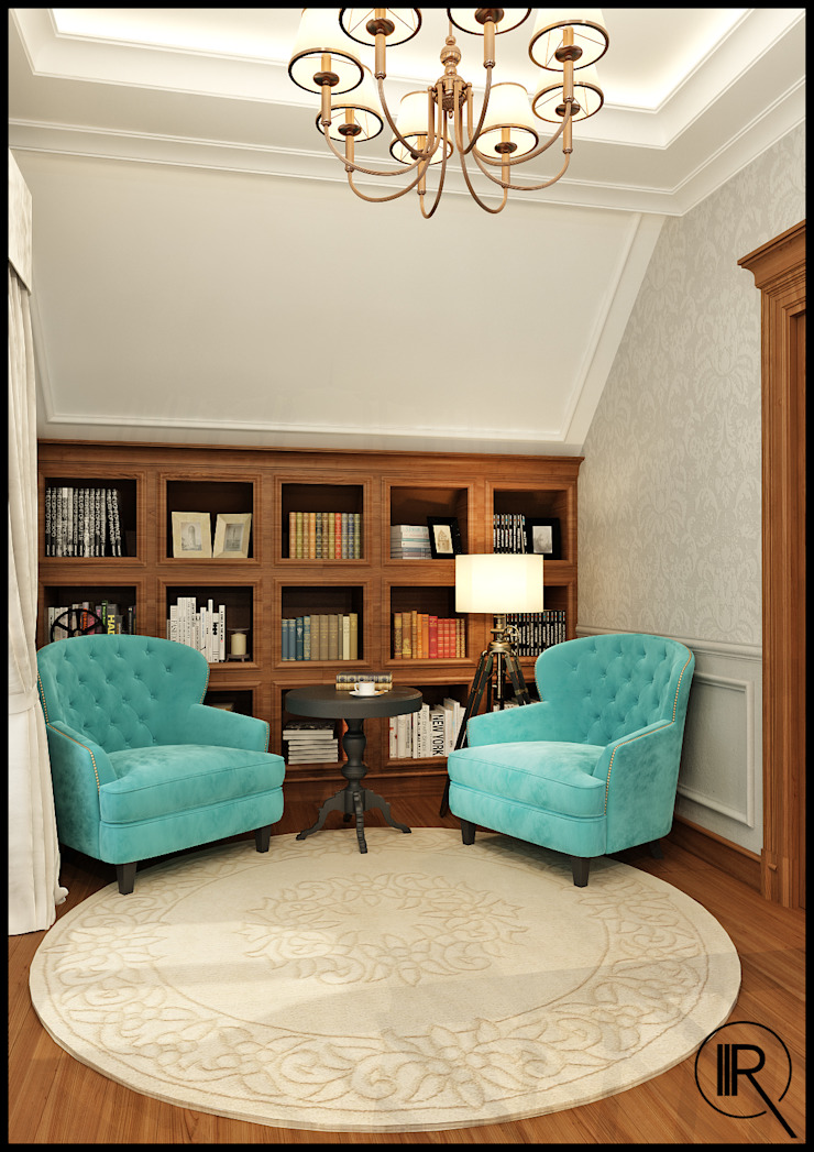 Холл Коридор, прихожая и лестница в классическом стиле от Rash_studio Классический