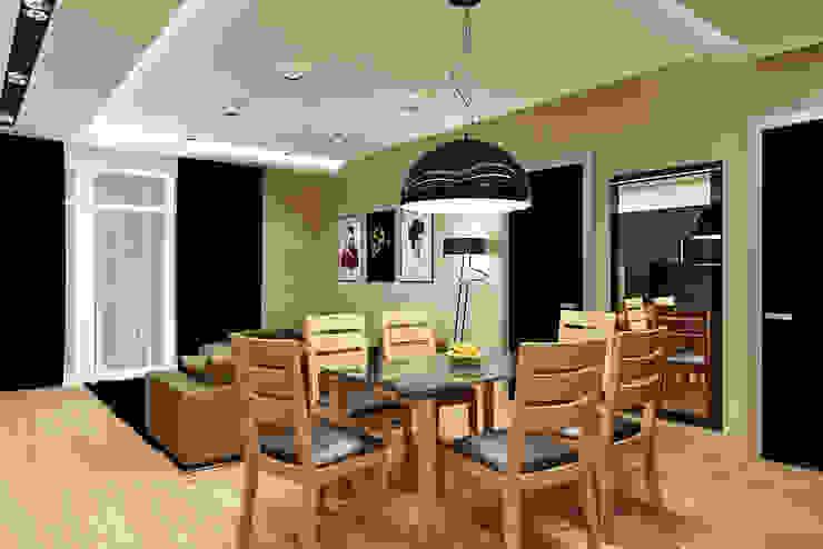 Современная студия Кухня в стиле модерн от Rash_studio Модерн