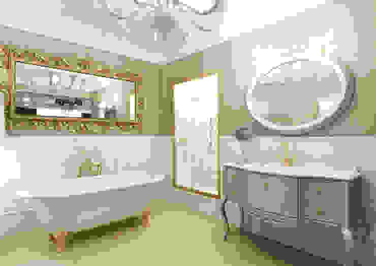 Rash_studio Eclectic style bathroom