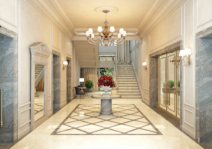 Интерьер дома Гостиная в классическом стиле от Rash_studio Классический
