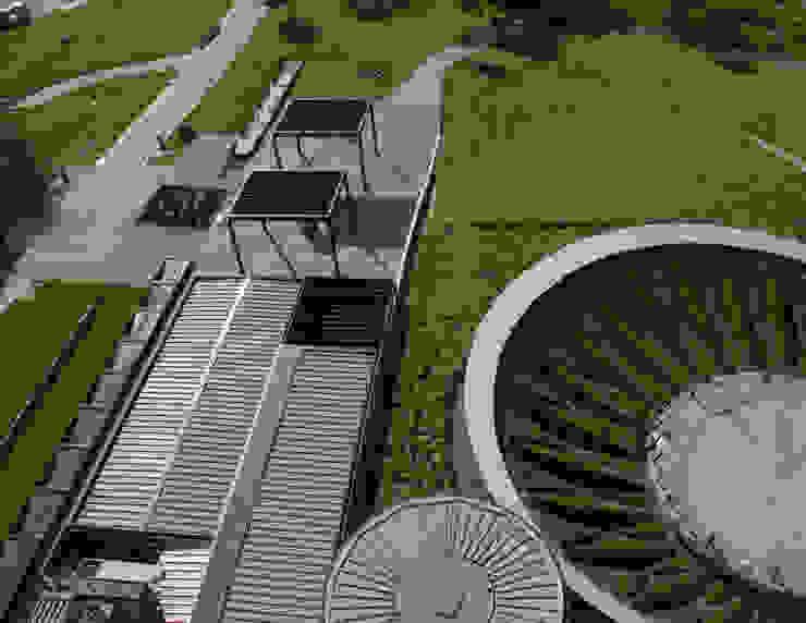 Composición de techos Museos de estilo industrial de HARARI LANDSCAPE Industrial