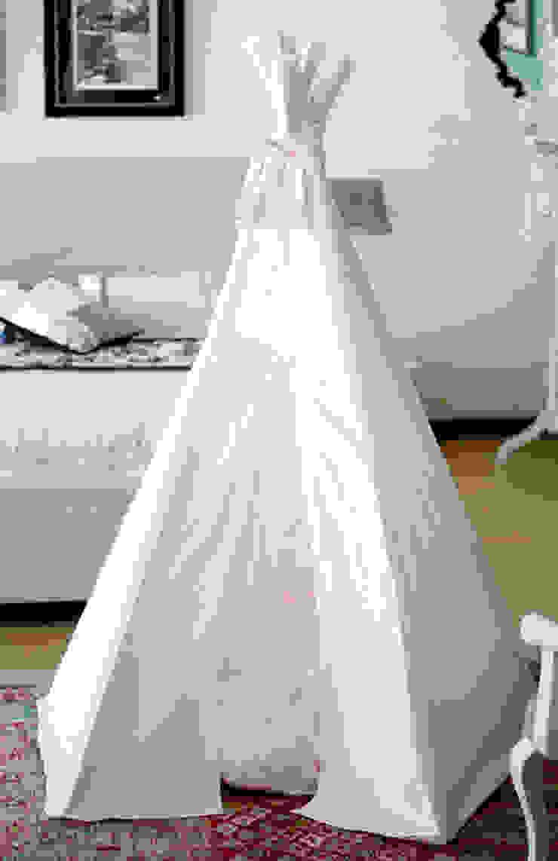 Baby Pink Tipi por Tipi Kids Moderno Têxtil Ambar/dourado