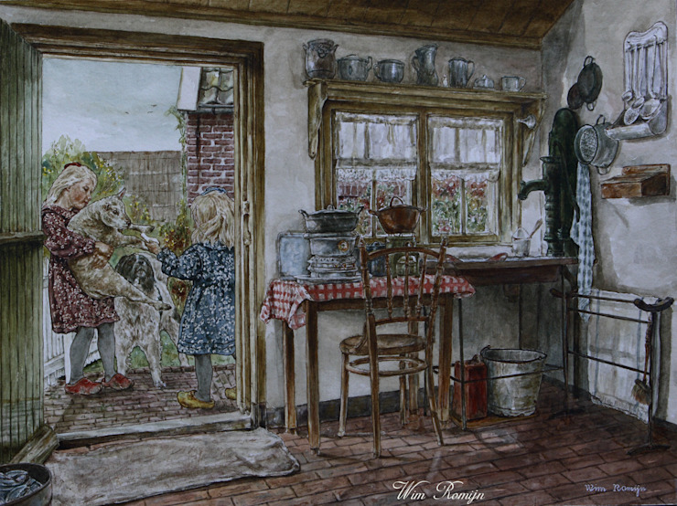 country  oleh Wim Romijn Art, Country Kertas