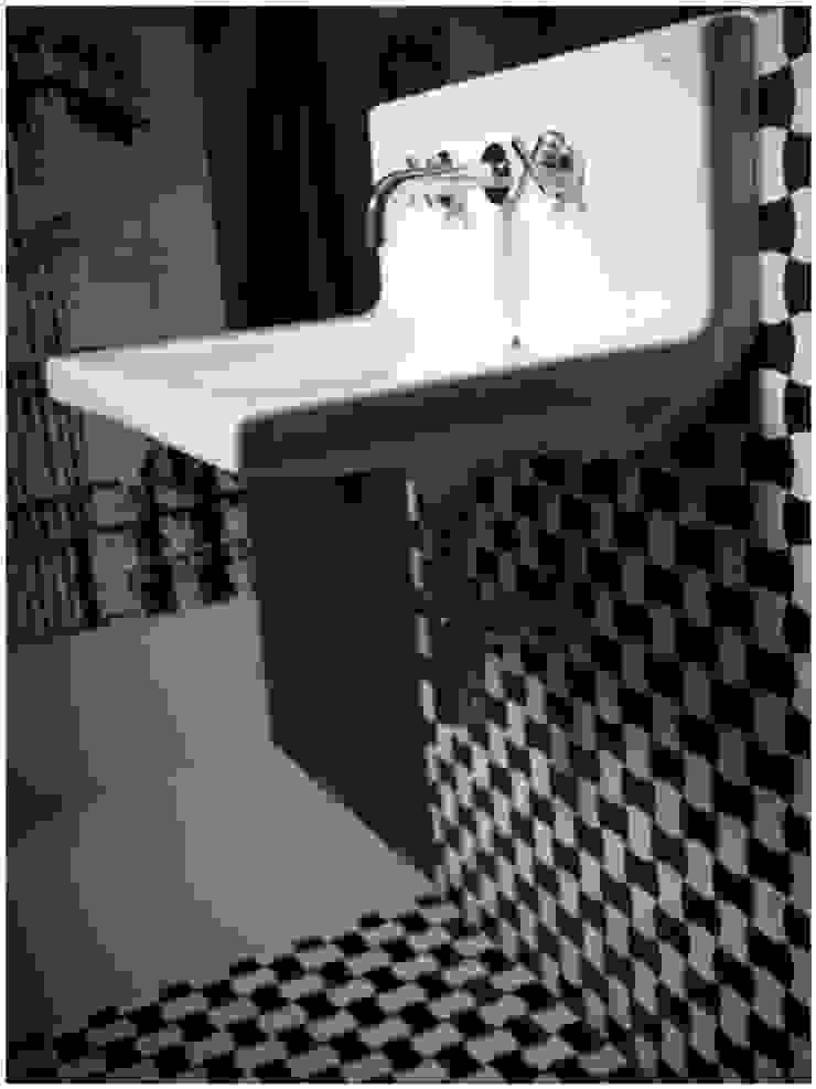 Dom na Zaciszu Nowoczesna łazienka od deco chata Nowoczesny