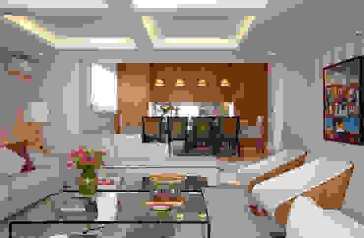 Apartamento Higienópolis Marcelo Rosset Arquitetura Salas de jantar modernas