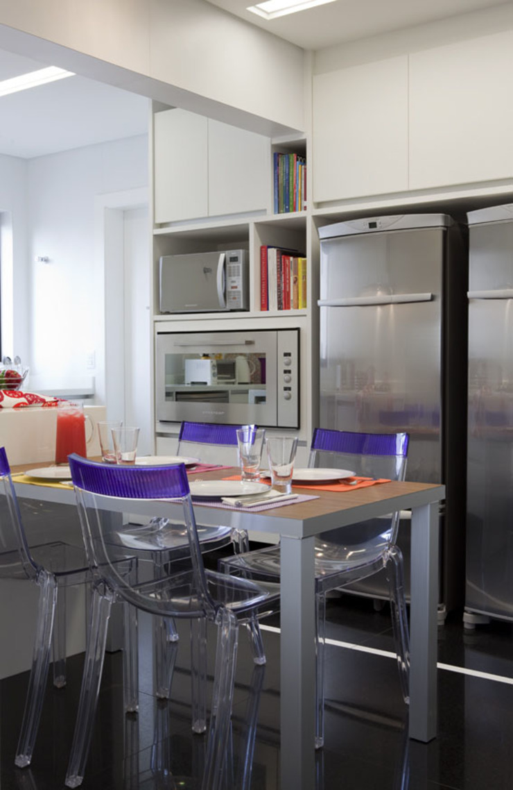 Apartamento Higienópolis Cozinhas modernas por Marcelo Rosset Arquitetura Moderno