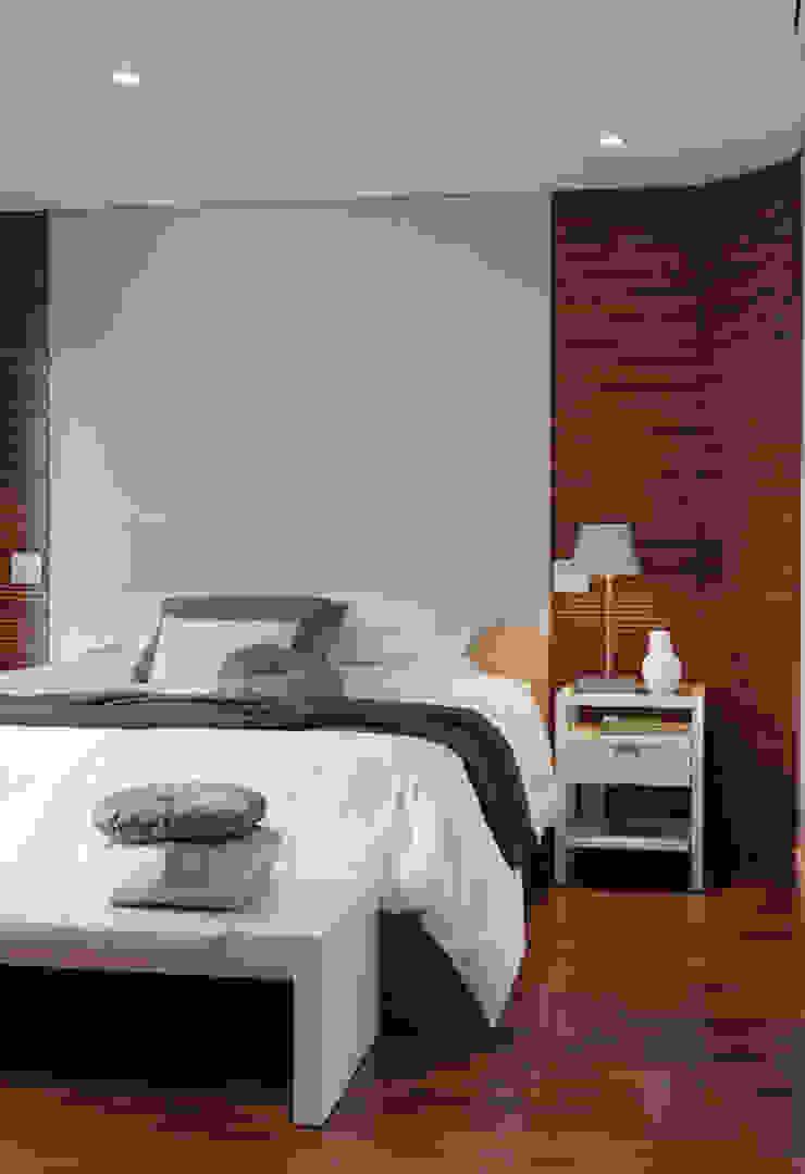 Apartamento Higienópolis Quartos modernos por Marcelo Rosset Arquitetura Moderno