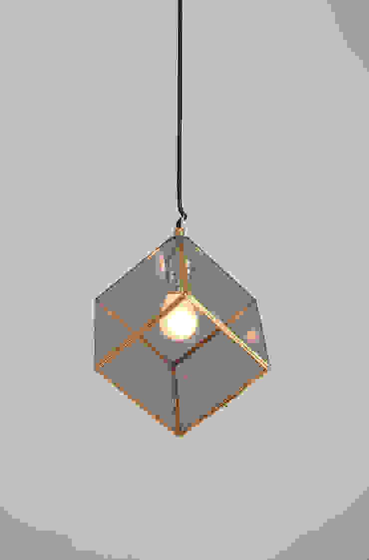 Cubo colgante / ahumado de Candela* Minimalista Vidrio