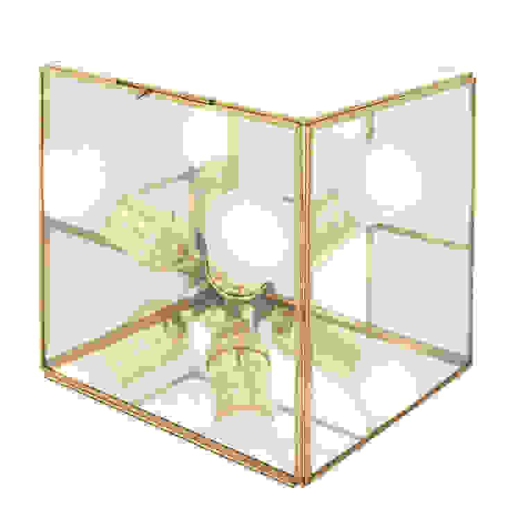 Cubo Candela de Candela* Ecléctico Vidrio
