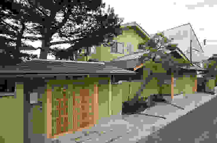 . 日本家屋・アジアの家 の 有限会社椿建築デザイン研究所 和風 石