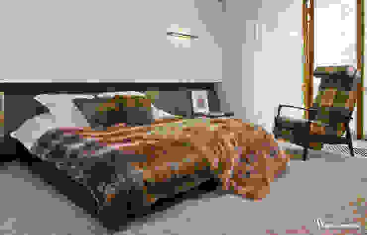 Dormitorios de estilo moderno de Bartek Włodarczyk Architekt Moderno