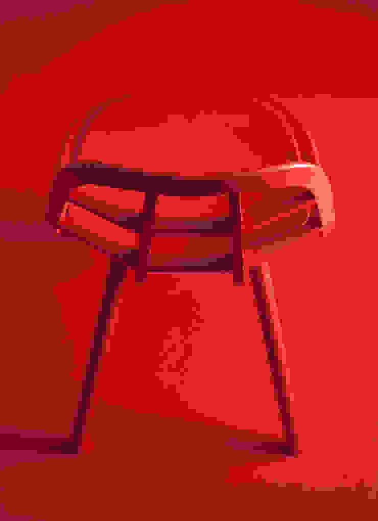 Nadia Chair :Hard Maple RED: MEETEE  株式会社松創が手掛けたスカンジナビアです。,北欧 木 木目調