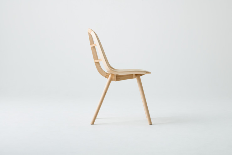 Nadia Chair :Hard Maple Natural: MEETEE  株式会社松創が手掛けたスカンジナビアです。,北欧 木 木目調