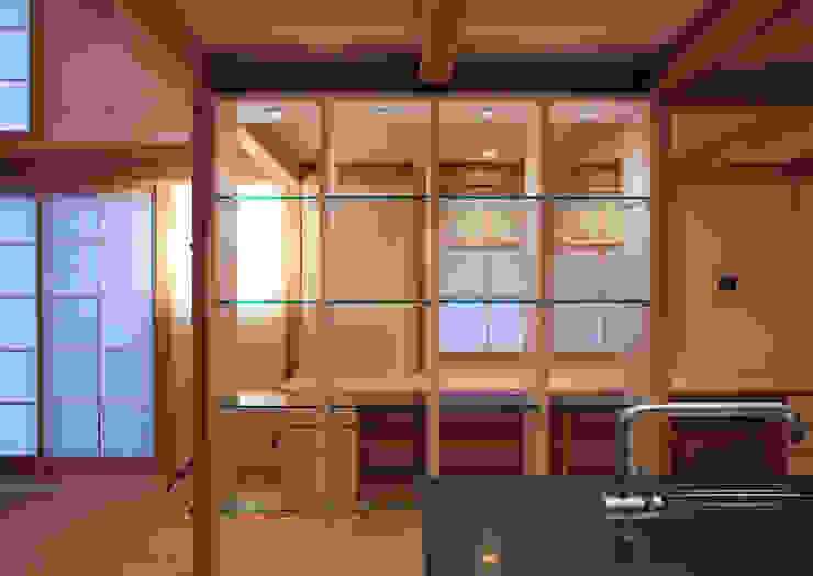 higashinagato house 和風デザインの 書斎 の 髙岡建築研究室 和風