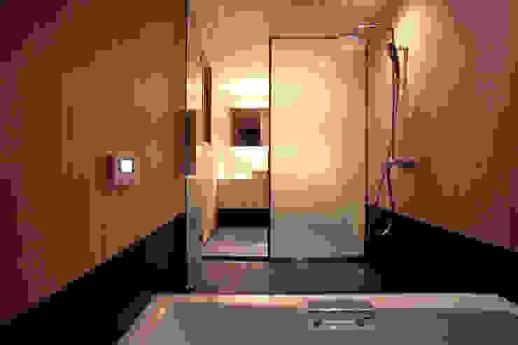 higashinagato house 和風の お風呂 の 髙岡建築研究室 和風