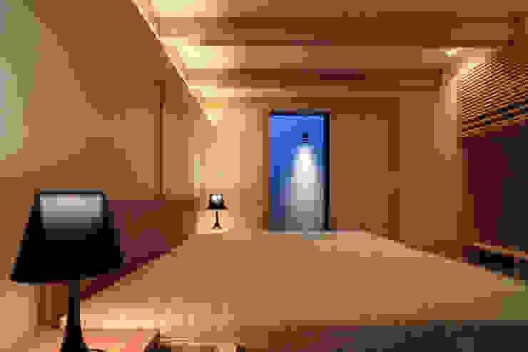 higashinagato house 和風の 寝室 の 髙岡建築研究室 和風