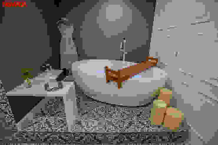 Modern bathroom by Nómada Studio Modern Porcelain