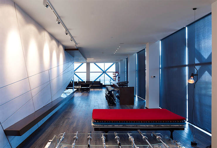 Süzer Plaza BS Penthouse Modern Koridor, Hol & Merdivenler nrp Modern