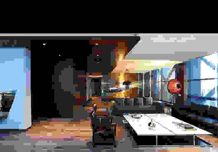 Süzer Plaza BS Penthouse Modern Oturma Odası nrp Modern