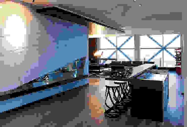Süzer Plaza BS Penthouse Modern Yemek Odası nrp Modern