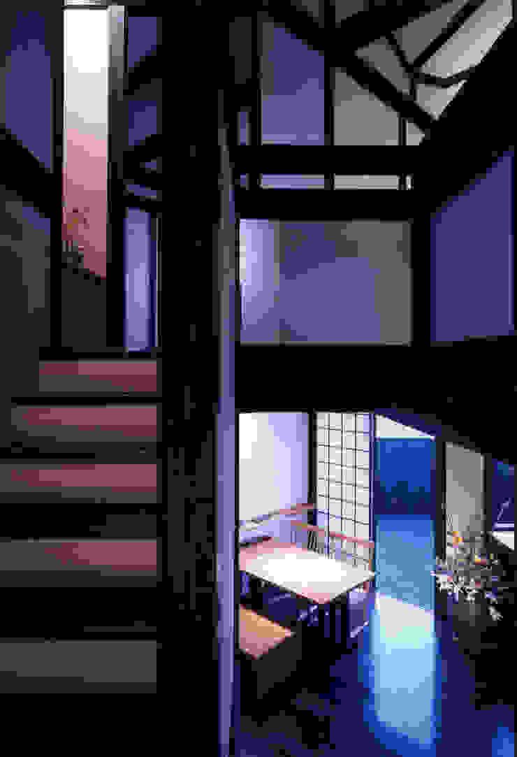 misawa house 和風の 玄関&廊下&階段 の 髙岡建築研究室 和風