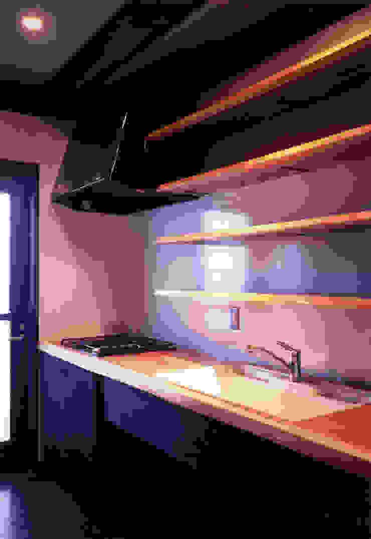 misawa house 和風の キッチン の 髙岡建築研究室 和風