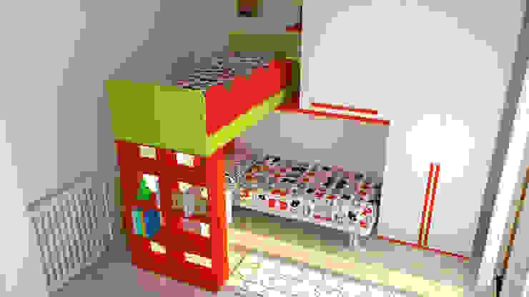 Nowoczesny pokój dziecięcy od OGARREDO Nowoczesny