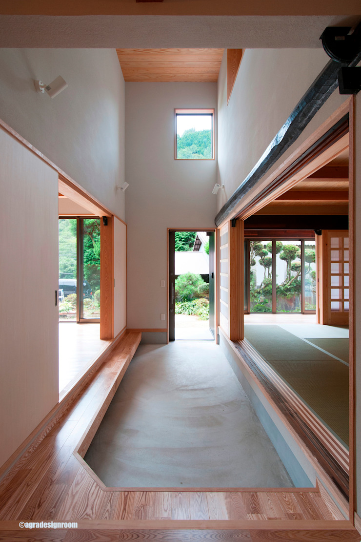 Country style house by アグラ設計室一級建築士事務所 agra design room Country