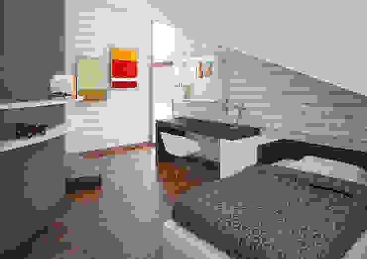 Quartos modernos por Architetto Alboini Maria Gabriella Moderno