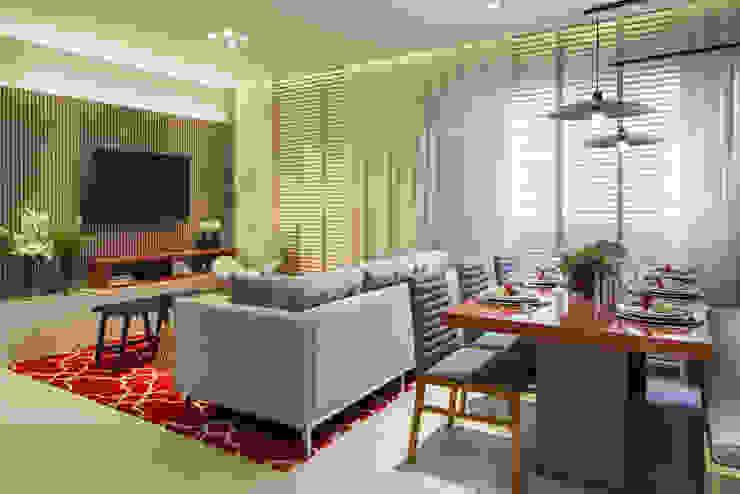 Itaquera | Decorados SESSO & DALANEZI Salas de estar modernas